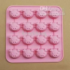 Wholesale Silicone bakeware, 16 cute Pig-shaped cake pan,lovely DIY chocolate cake mold, Free shipping, $8.95-9.99/Piece | DHgate