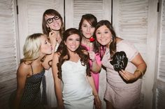 Rustic outdoor spring wedding - DIY photo booth! http://www.neverseriousblog.com/the-perfect-day-wedding-recap-part-3/