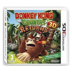 Donkey Kong Country Returns Jeu 3DS  L arrivée des beaux jours marque le retour d un grand classique du jeu de plateforme, Donkey Kong Country sur Nintendo 3DS ! Contrôlés par les vilaines créatures masquées de l... prix : 31.99 EUR €  chez Auchan Jeux Video #AuchanJeuxVideo