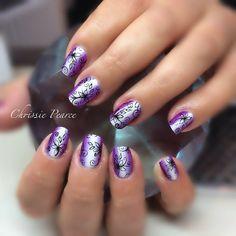 Instagram photo by chrissiesnaildesigns #nail #nails #nailart