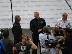 Boris Becker - gewann insgesamt 49 Turniere im Einzel – darunter sechs Grand-Slam-Turniere, davon dreimal das Turnier von Wimbledon – sowie 15 Titel im Doppel. Er führte zwölf Wochen die Weltrangliste an und ist bis heute jüngster Wimbledon-Sieger in der Geschichte des Turniers / ADAC Fahrsicherheitszentrum Grevenbroich #Mercedes