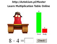Master of Multiplication Tables (digits: Multiplication Table For Kids, Multiplication Drills, Subtraction Worksheets, Multiplication And Division, Interactive Learning, Kids Learning, Simple Math, Easy Math, Teacher Posters