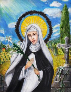 St. Catherine of Siena by Aodhagain (2010) | Deviant Art