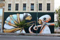 Artist: Ana Maria - Location: 800 Garrison Avenue Fort Smith, Arkansas…
