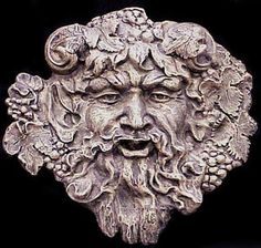 dionysus | BACCHUS FACE WALL PLAQUE GOD DIONYSUS GREEK GOTH 10023 | eBay