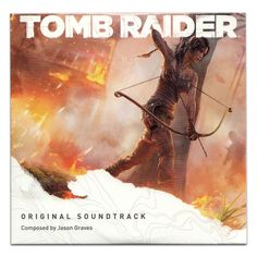 """*Limited Stock Available!* """"TOMB RAIDER"""" - Original Video Game Soundtrack CD by Jason Graves (NEW & SEALED!) #soundtracks #cds #tombraider"""