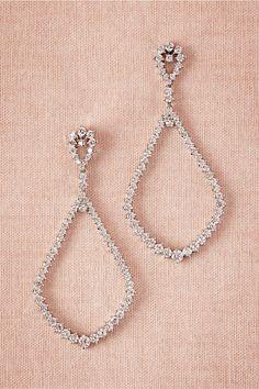 Earrings for the #bride BHLDN Leona Drops