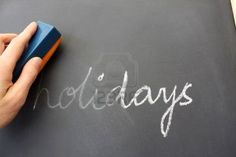 The Holidays are Officially Over....Thank Goodness!  Time to get back on the routine.  Good luck in getting back into your groove.