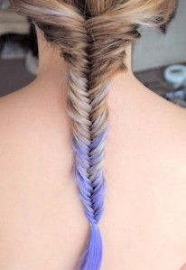 Hair dye & fishtail