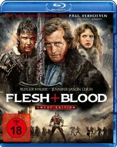 Flesh + Blood - Blu-Ray (Koch Media Region B) Release Date: Available Now (Amazon Germany)