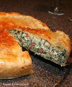 Italian-Fusion: Tuscan Spinach Bake
