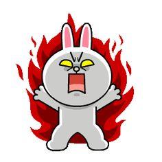 LINE MOBILE & LINE FRIENDS Buzzwords! | Line Sticker Cute Couple Cartoon, Cute Love Cartoons, Cute Cartoon, Friends Gif, Line Friends, Cartoon Gifs, Cartoon Art, Cute Love Gif, Bunny And Bear