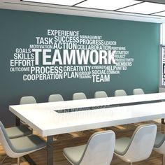 office flooring Office Wall Art Office D - Corporate Office Design, Office Wall Design, Office Wall Decor, Office Walls, Office Interior Design, Office Interiors, Modern Office Decor, Cool Office Space, Modern Wall