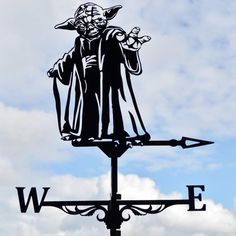 May the weathervane be with you! Turns easy and steady in the wind. 2 years WARRANTY for stainlessness! Star Trek, Laser Cut Steel, Cute Sketches, Weather Vanes, Steel Art, Wind Spinners, Welding Art, Stencil Painting, Shop Signs