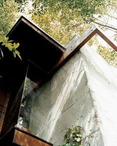 La casa que el arquitecto americano Ray Kappe construyó para su familia en 1968…