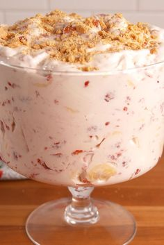 Strawberry Cheesecake Salad - Delish.com