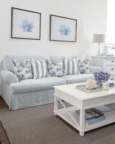85 Cozy Coastal Living Room Decorating Ideas