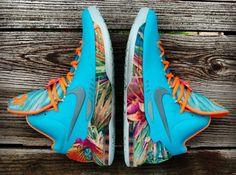 "Nike KD 5 ""305″ Customs by Gourmet Kickz"