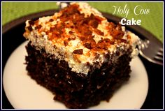 Sweet Tea and Cornbread: Holy Cow Cake!