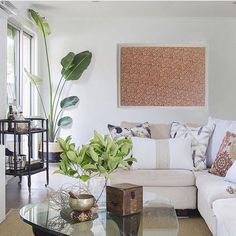 Living room inspo and designer cushions! ♡