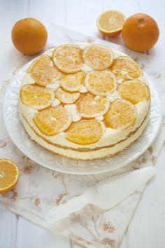pastís de crema de taronja