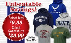 Armed Forces Gear | Official Army, Navy, Air Force and Marines Apparel