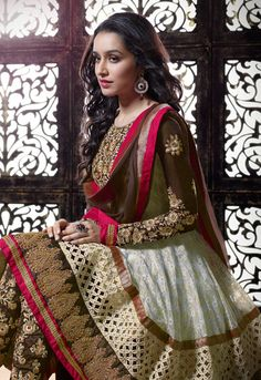 shradha kapoor in anarkali - Google Search