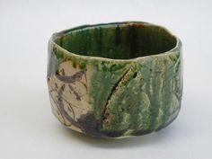 織部焼き 茶碗