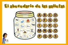 abcdario galletas Speech Language Therapy, Speech And Language, Head Start, Teacher Resources, Games For Kids, Nespresso, Literacy, Back To School, Kindergarten