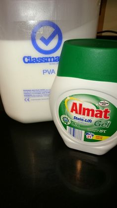Borax Free slime Ingredients uk - quantity of Almat:pva