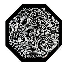Full image plate!! Use AAX31 to save 10% off your order @BornPrettyStore, Nail Art Stamp Template Quirky Arabesque Patt... at $2.99. http://www.bornprettystore.com/-p-15087.html