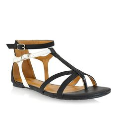 Look what I found on #zulily! Black Muubaa Sandal by Shoe Republic LA #zulilyfinds
