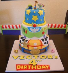 My First Toy Story Cake By Yane on CakeCentral.com