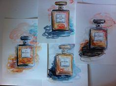 Aquarelle Chanels