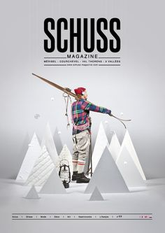 Editorial design for Schuss magazine by Milani Johann. Web Design, Book Design, Layout Design, Editorial Design, Editorial Layout, Design Poster, Poster Designs, Print Design, Cv Inspiration