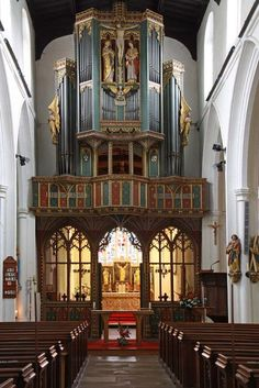 All Saints, St. Ives, Cambridgeshire. Sir Ninian Comper.