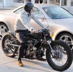 Leatherup Blog - Beckham Custom Bike