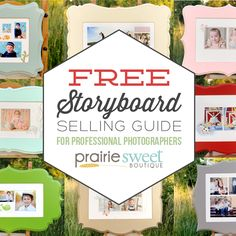 FREE E-BOOK: The Storyboard Selling Guide for Professional Photographers
