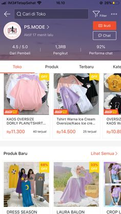 Best Online Clothing Stores, Online Shopping Sites, Online Shopping Clothes, Online Shop Baju, Aesthetic Shop, Asian Short Hair, Ootd, Hijab Tutorial, Shops