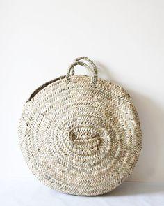 Image of Woven Circular Basket