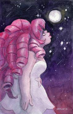 Kiss the Moon: Steven Universe Rose Quartz Original by FromMyHat