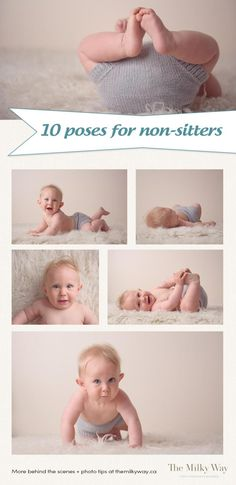 See the simple poses for non-sitters now!