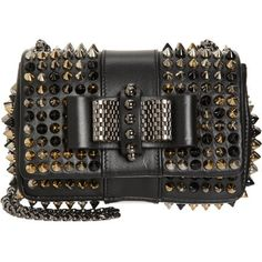 Christian Louboutin Mini Sweet Charity Spikes Bag at Barneys.com