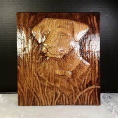 Check out this item in my Etsy shop https://www.etsy.com/listing/248133913/labrador-wood-carving-wall-art-dog