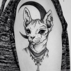 Gallery For > Bastet Egyptian Cat Goddess Tattoos