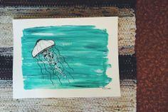 himynameisphilip is offline Crab Art, Posca, Jellyfish, Original Paintings, Arts And Crafts, Craft Ideas, The Originals, Artwork, Image