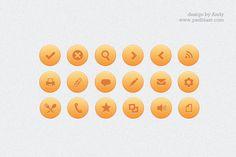 Web icon PSD