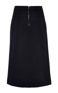 Compact Wool Skirt by Nina Ricci for Preorder on Moda Operandi