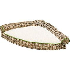 Petco Tan Corner Pet Bed. This would be great at Gramma's house where the rooms are a little more crowded!