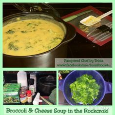 Broccoli & Cheese Soup in my Rockcrok!